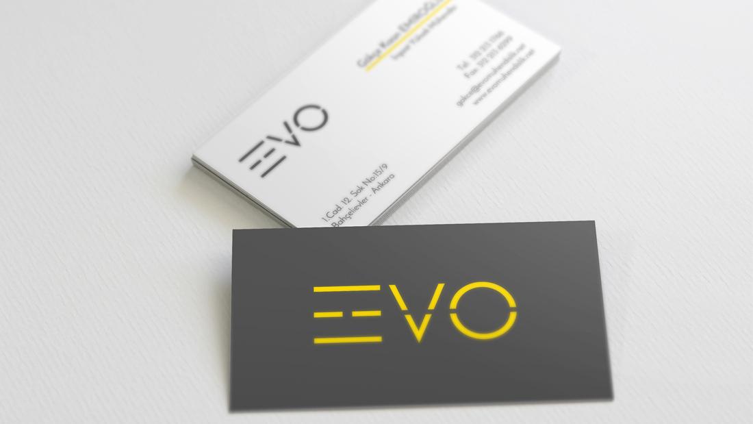 EVO Mühendislik Kartvizit